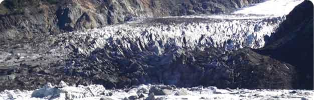 El Cerro Tronador en Bariloche, Argentina