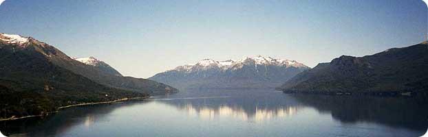 Lago Traful en Patagonía, Argentina